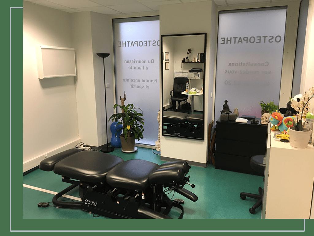 cabinet d'ostéopathie pour vos soins à Auneau